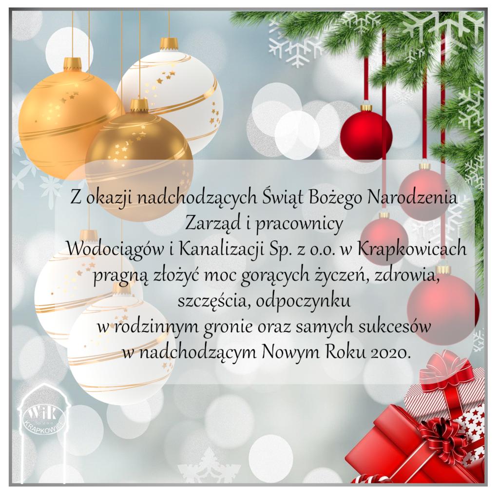 Kartka z okazji świąt Bożego Narodzenia